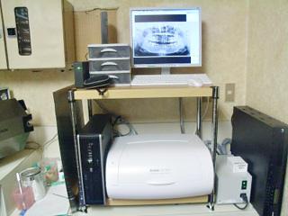 デジタルレントゲン(CR-7400 Sun System)